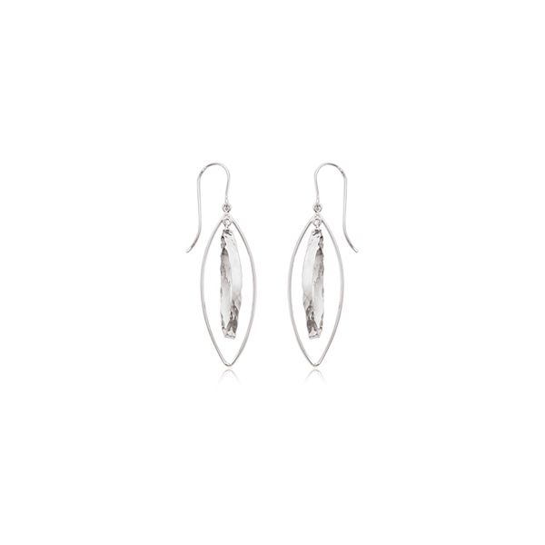 Silver Marquis Earrings Sam Dial Jewelers Pullman, WA