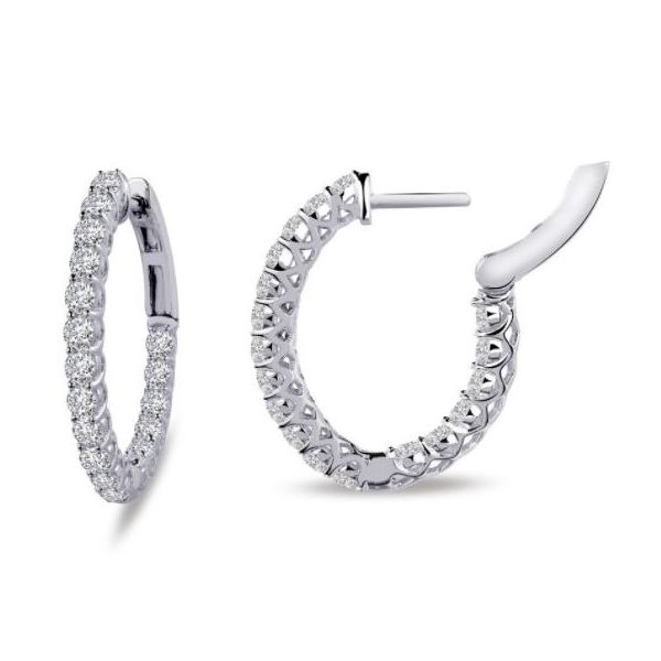 SILVER INSIDE OUT HOOPS Sam Dial Jewelers Pullman, WA