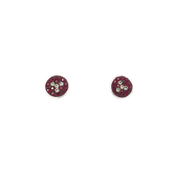 WSU SWAROVSKI TRIFOIL EARRINGS Sam Dial Jewelers Pullman, WA