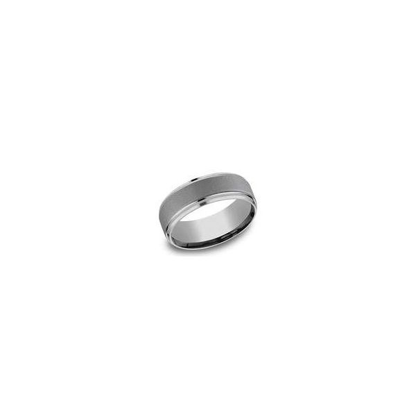 Men's Tantalum Polished Edge Ring Sam Dial Jewelers Pullman, WA