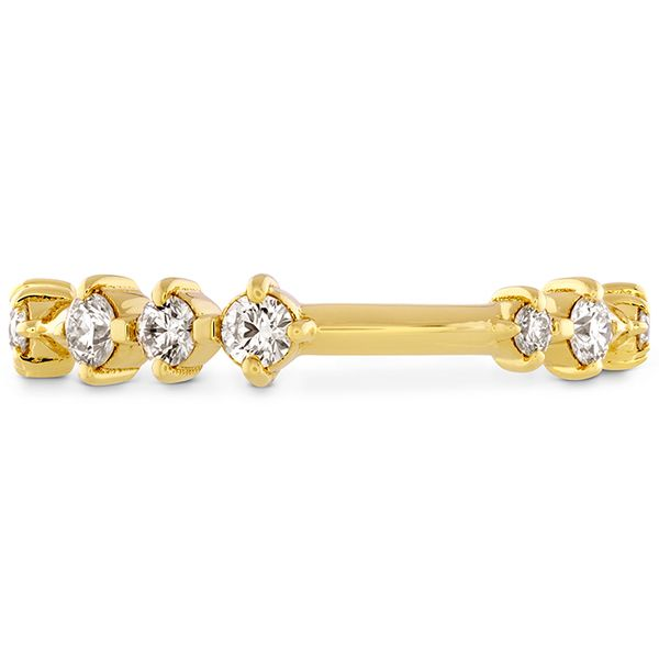18kt Yellow Gold Love Code Diamond Band Hayley Paige By Hearts On Fire Sanders Diamond Jewelers Pasadena, MD