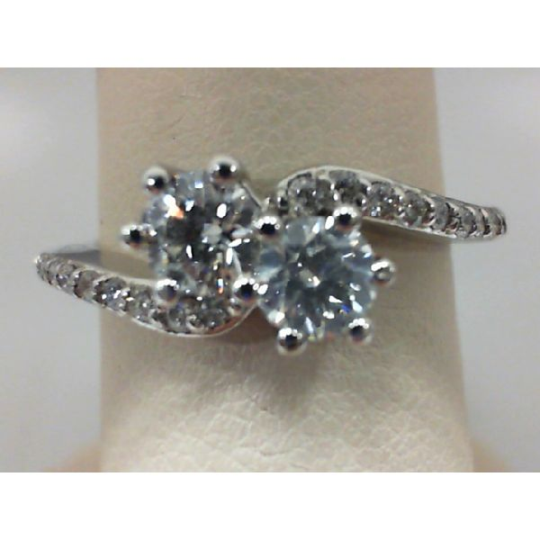 14Kt White Gold 3/4Ctdw  Diamond