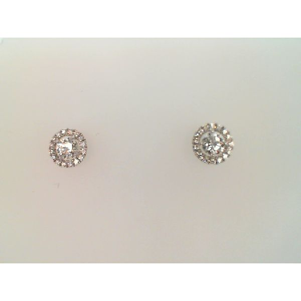 18kt White Gold 0.71 Ctw Repertiore Diamond Stud Earrings By Hearts On Fire Sanders Diamond Jewelers Pasadena, MD