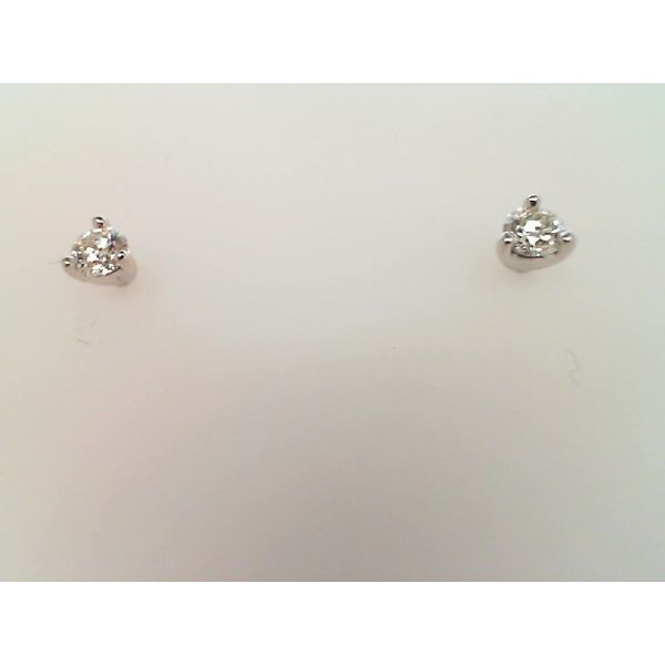 18kt White Gold 0.33Ctdw I/J Vs2 Diamond Stud Earrings By Hearts On Fire Image 2 Sanders Diamond Jewelers Pasadena, MD