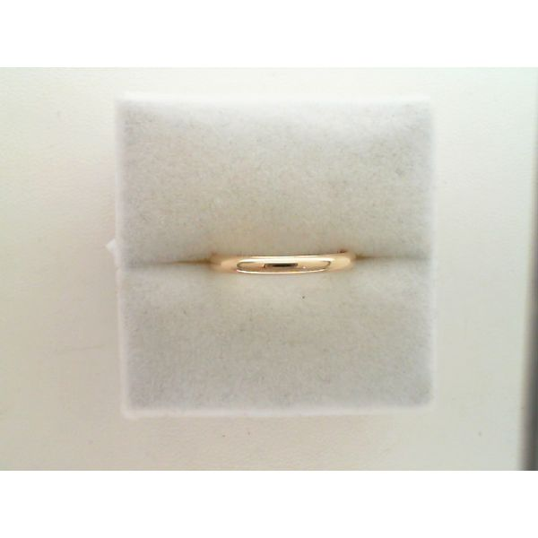 14Kt Yellow Gold 2mm Lite Comfort Fit Band Sanders Diamond Jewelers Pasadena, MD