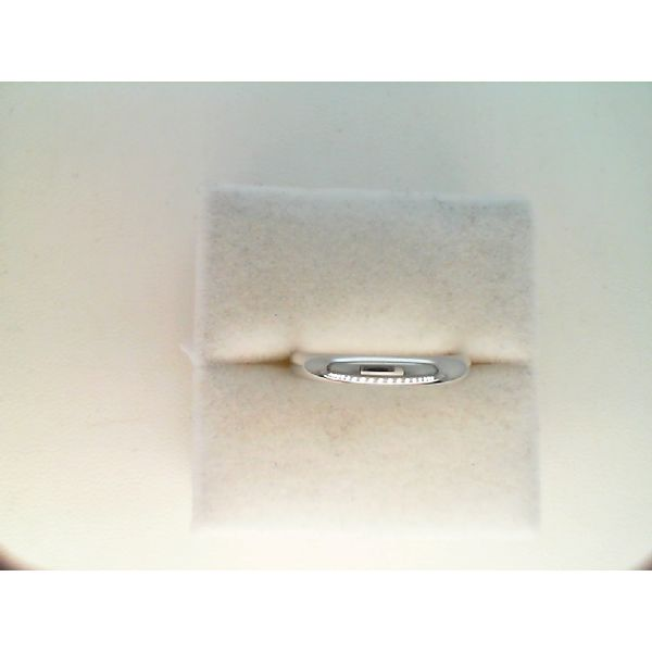 14Kt White Gold 3mm Light Weight ?Comfort Fit Band Size 8 Sanders Diamond Jewelers Pasadena, MD