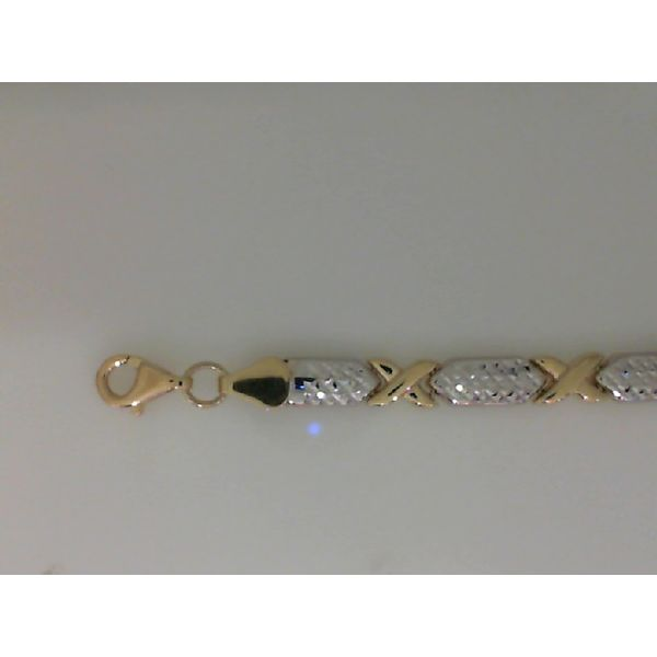 14Kt Yellow Gold and White Gold 7.25