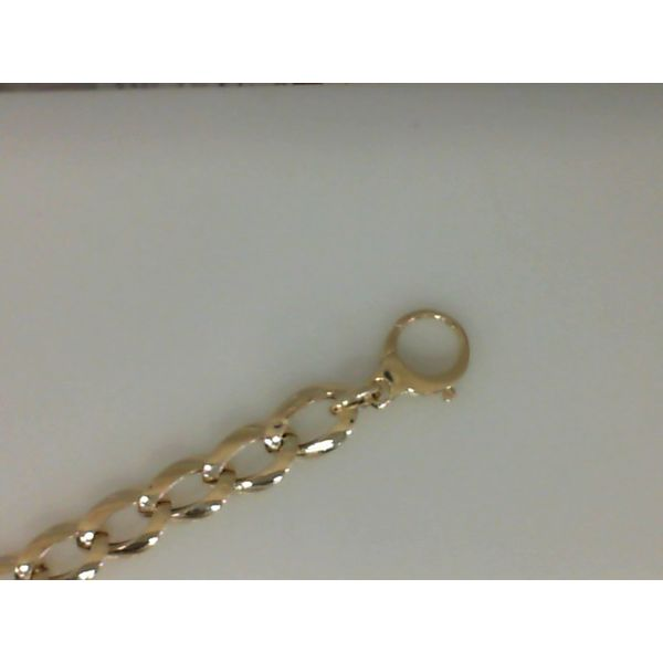 14Kt Yellow Gold Open Link Bracelet With Lobster Clasp Sanders Diamond Jewelers Pasadena, MD