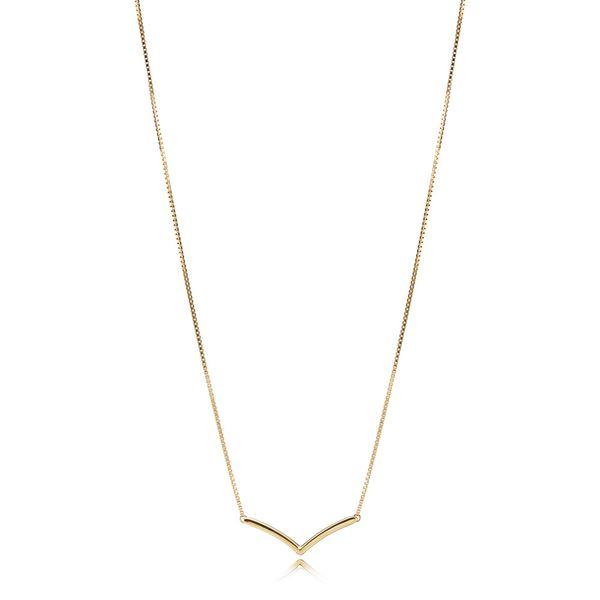 Pandora Shine Wishbone collier