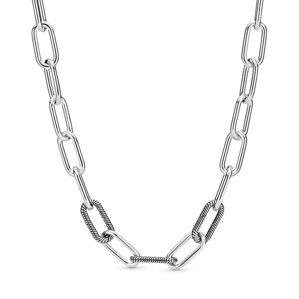 Pandora Me Collection Sterling silver link necklace 17.7