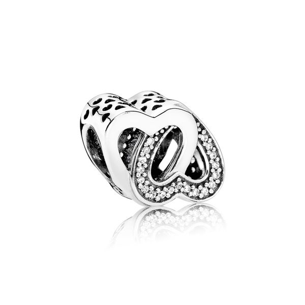 Pandora Entwined Love with Clear CZ Charm Sanders Diamond Jewelers Pasadena, MD
