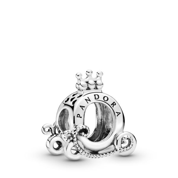 Pandora Crown O carriage sterling silver charm Sanders Diamond Jewelers Pasadena, MD