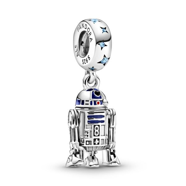 Pandora Sterling Silver Star Wars R2D2 Dangle Sanders Diamond Jewelers Pasadena, MD