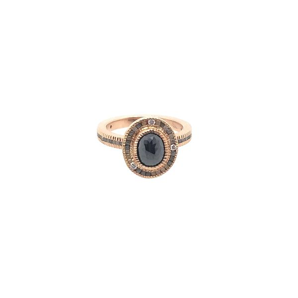 Todd Reed Rose Cut Fancy Diamond Ring in Rose Gold Saxon's Fine Jewelers Bend, OR