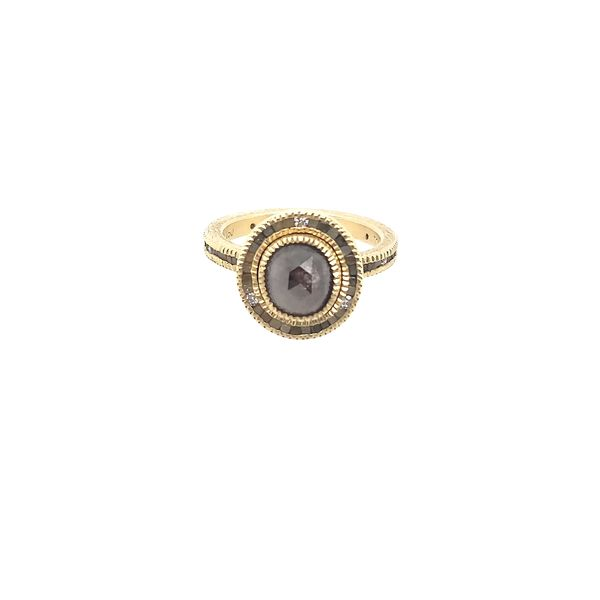 Todd Reed Yellow Gold Fancy Raw Diamond Ring Saxon's Fine Jewelers Bend, OR
