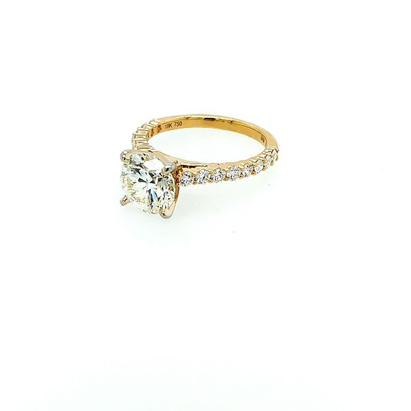 Saxons Timeless Solitaire Diamond Ring Image 2 Saxons Fine Jewelers Bend, OR