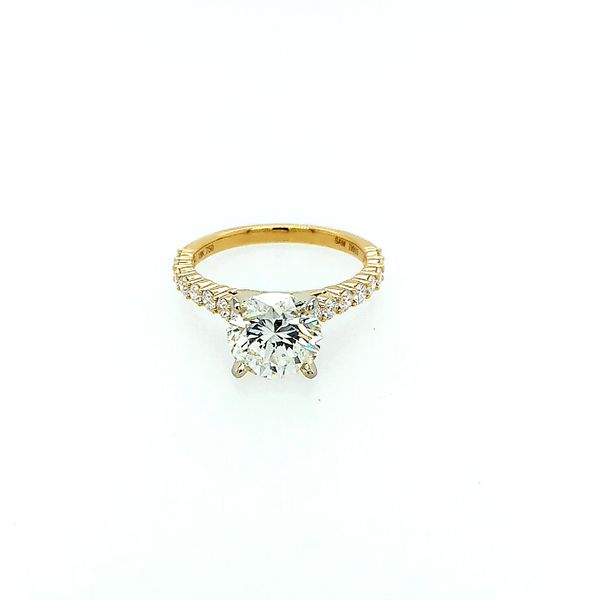 Saxons Timeless Solitaire Diamond Ring Saxons Fine Jewelers Bend, OR