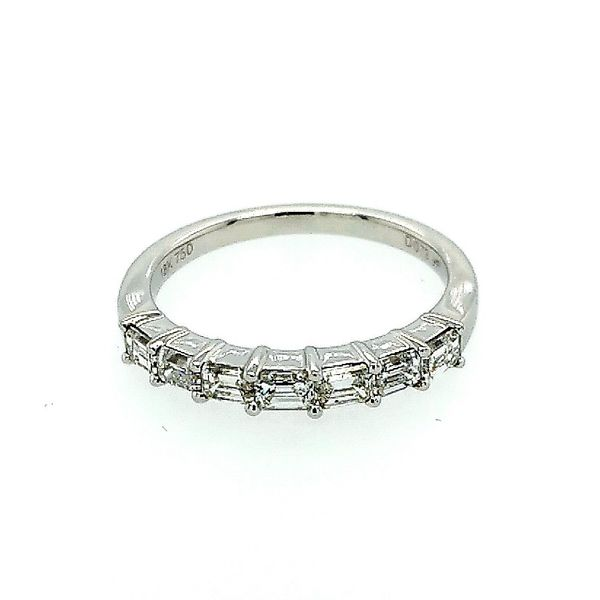 14 Karat White Gold Wedding Band Saxon's Fine Jewelers Bend, OR