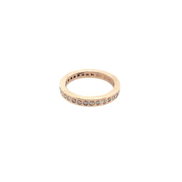 18 Karat Rose Gold Eternity Band Saxon's Fine Jewelers Bend, OR