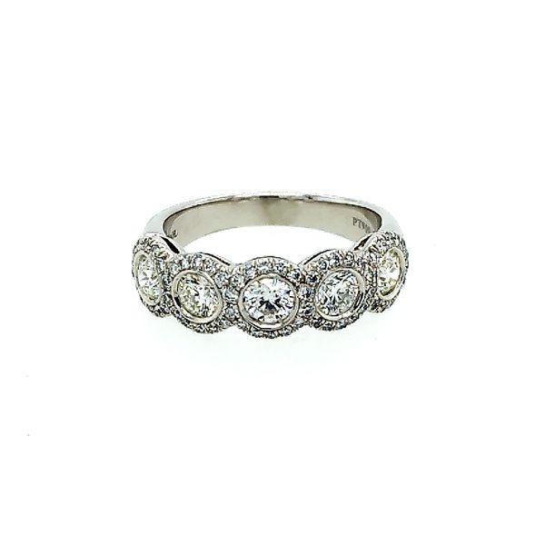 Halo Diamond Wedding Band Saxon's Fine Jewelers Bend, OR