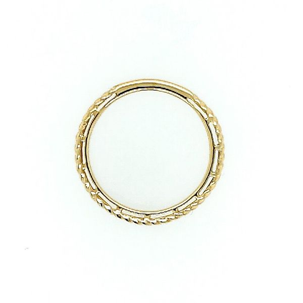 Gabriel & Co. 14K Yellow Gold Twisted Rope Stackable Ring Image 2 Saxon's Fine Jewelers Bend, OR