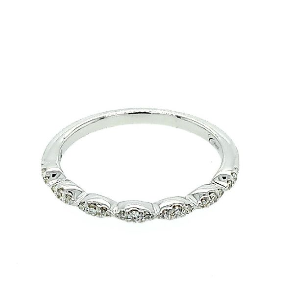 Saxons Micro Prong Fishtail Diamond Band Saxons Fine Jewelers Bend, OR