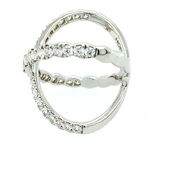 Hearts on Fire Lorelei Diamond Criss Cross Ring Image 2 Saxon's Fine Jewelers Bend, OR