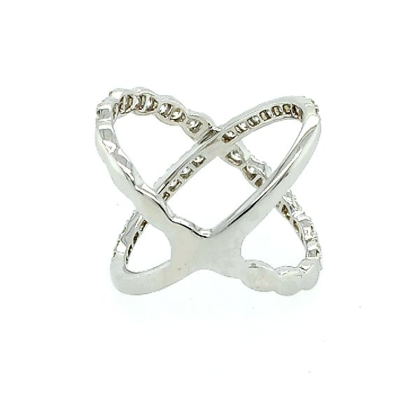 Hearts on Fire Lorelei Diamond Criss Cross Ring Image 3 Saxon's Fine Jewelers Bend, OR