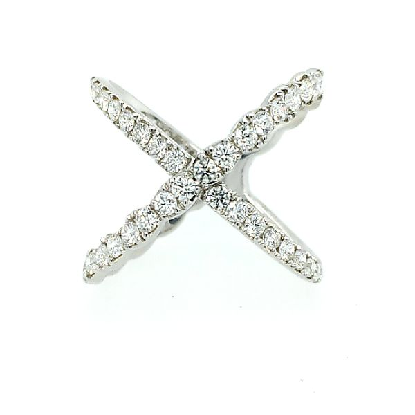 Hearts on Fire Lorelei Diamond Criss Cross Ring Saxon's Fine Jewelers Bend, OR