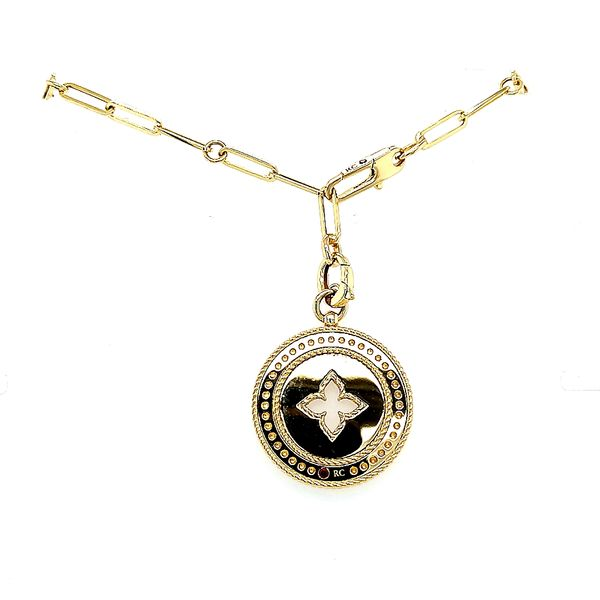 Roberto Coin Gold Diamond Venetian Princess Necklace Image 2 Saxon's Fine Jewelers Bend, OR