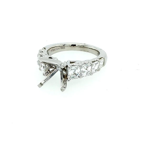 JB Star Platinum Diamond Semi Mount Saxons Fine Jewelers Bend, OR