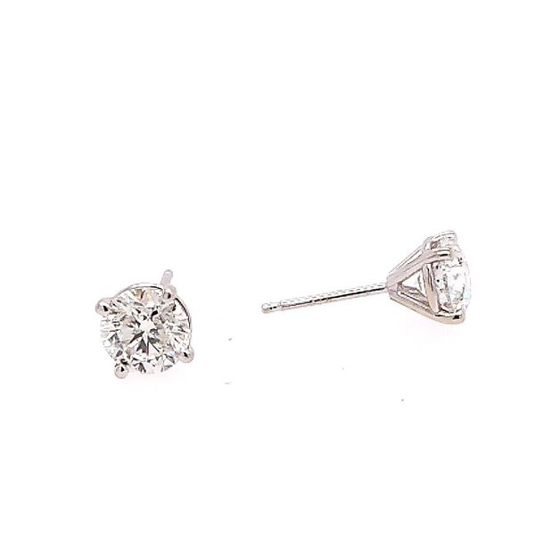 Saxons Diamond Studs Saxon's Fine Jewelers Bend, OR