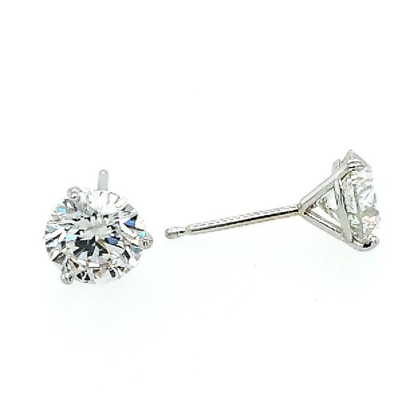 Saxons Diamond Three Prong Studs Saxons Fine Jewelers Bend, OR
