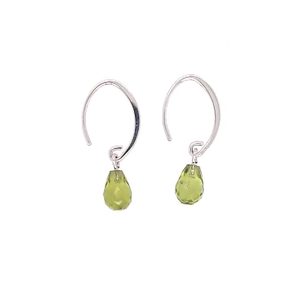 Peridot Drop Earrings Saxon's Fine Jewelers Bend, OR