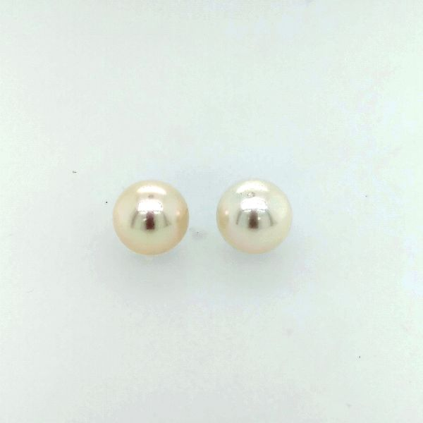 Saxons Pearl Akoya Earrings Image 2 Saxons Fine Jewelers Bend, OR