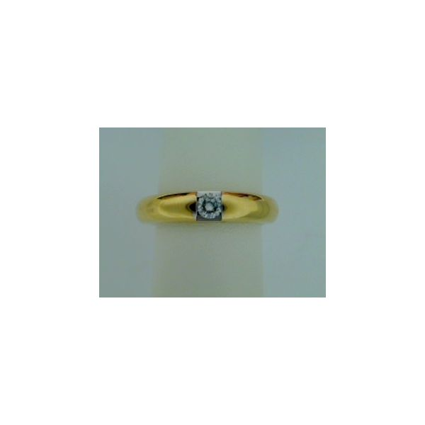 14 Karat Yellow Gold Wedding Band Saxon's Fine Jewelers Bend, OR