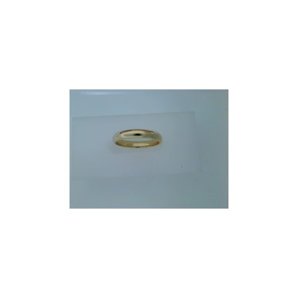 Gents 14 Karat Yellow Gold Wedding Band Saxon's Fine Jewelers Bend, OR