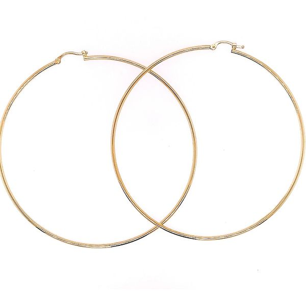 Extra Large Hoops Saxon's Fine Jewelers Bend, OR