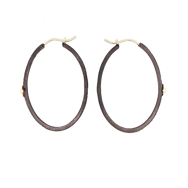 Armenta Silver Hoops Image 2 Saxon's Fine Jewelers Bend, OR