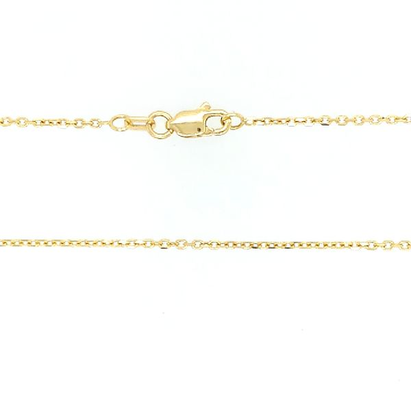Saxons Diamond Cut Cable Gold Chain Saxon's Fine Jewelers Bend, OR