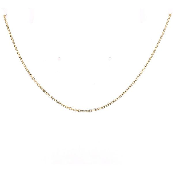 Midas Chain Diamond Cut Cable Saxon's Fine Jewelers Bend, OR