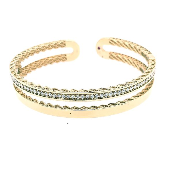 Roberto Coin Diamond Bangle/ Cuff Saxon's Fine Jewelers Bend, OR