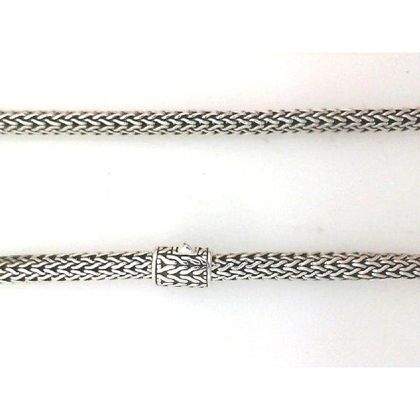 John Hardy SIlver Classic Chain XS Necklace 5 mm 16 Inches Image 2 Saxon's Fine Jewelers Bend, OR