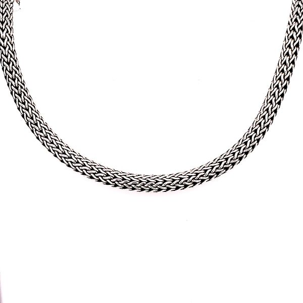 John Hardy SIlver Classic Chain XS Necklace 5 mm 16 Inches Saxon's Fine Jewelers Bend, OR
