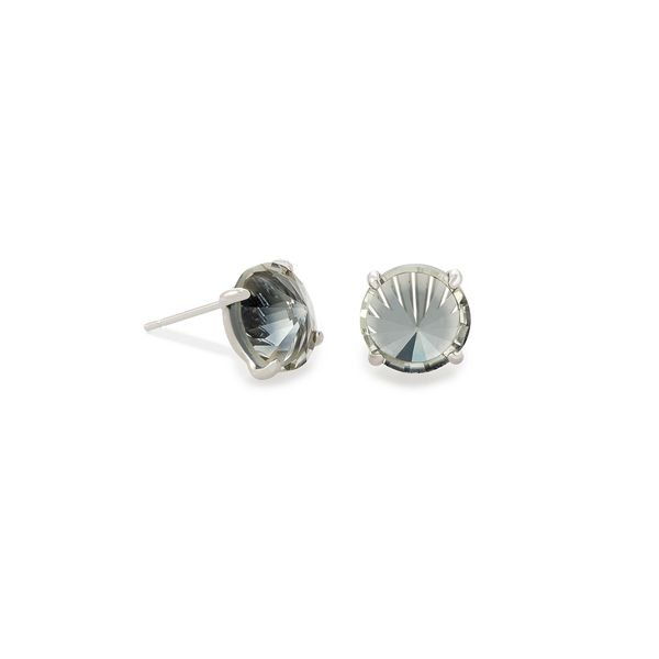 Silver Plated Stud Earrings Seita Jewelers Tarentum, PA