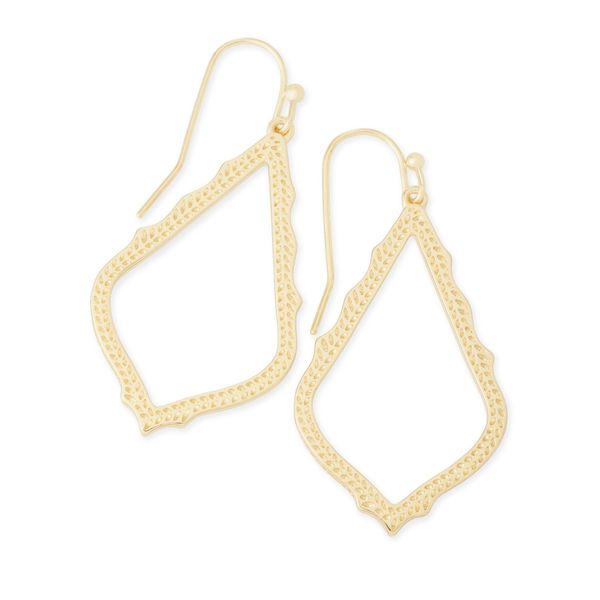 14k Yellow Gold Plated Drop Earrings Seita Jewelers Tarentum, PA