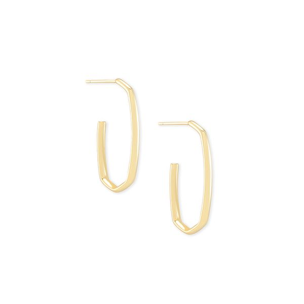 Gold Plated Hoop Earrings Seita Jewelers Tarentum, PA