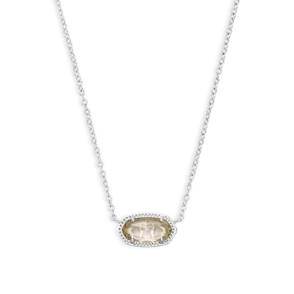 Rhodium Plated Pendant Necklace Seita Jewelers Tarentum, PA
