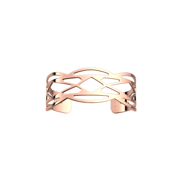 Rose Gold Finish 14mm Cuff Bracelet Seita Jewelers Tarentum, PA