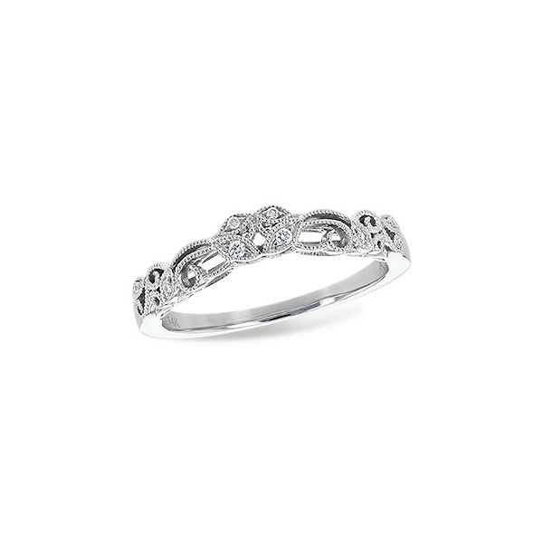 14k White Gold Diamond Wedding Band Seita Jewelers Tarentum, PA